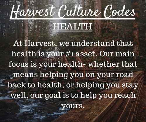 Culture Code at Harvest Chiropractic